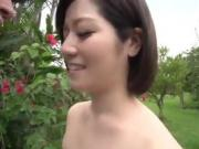 Dashing Asian woman, Minami Asano, full porn scene