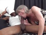 Time For My Nooner MILF Tells Her Interracial Lover