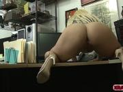 Sexy Nina Kayy gives Shawns massive prick a hard fuck
