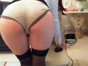 Secretary Arse Role Play to Boss!