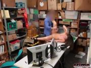 Shane Blair Caught Stealing And Banged In Office
