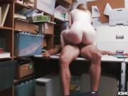 LP Officer fucking shoplifter Dolly Leigh on top