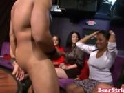 Ebony Couple Fucking In Front Of An Audience