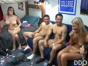 Wet and racy orgy party
