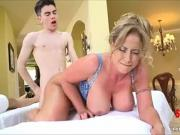 Brazzers - Little Friend With Big PENIS Fuck a Golden-haired