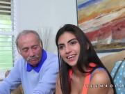 Michelle Martinez fucks ancient old man
