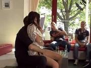 Petite slave disgraced in Berlin streets
