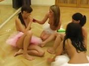 Teen blows dad first time Hot ballet damsel orgy