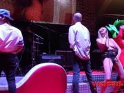 Amateur porn casting on stage by Brunoymaria at SEM 2016