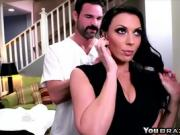 Rachel Starr needs massage and a cock in her poon