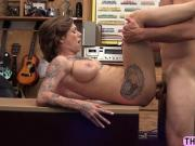 Sizzling slut Harlow gets her tight pussy fucked hard