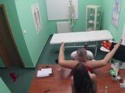 Doctor fucks big ass skilful brunette patient