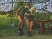 Good Looking Ladies Getting Pumped Hard By Soldiers