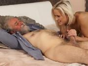 Old men sucking dick Surprise your gf and she