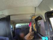 Cab driver fucks blonde babe ass hole