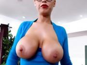 Hot Teacher Bridgette B Enjoys Students Big Cock