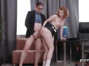 Elegant schoolgirl is seduced and fucked by her older teacher