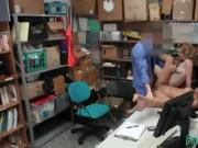 Teens Bonnie And Maya Banged In Office For Crime
