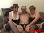 German Amateur Threesome During Porn Casting - GermanPornCast
