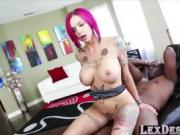 Busty and cute Anna gets hammered hard