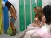 Milf teaches lesbian Hot ballet woman orgy