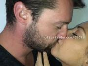 Dave and Samantha Kissing Video 1