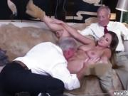 Public agent fuck old women Ivy impresses with her meaty funb