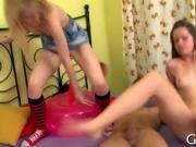 Horny pussy examination