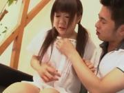 Boobed asian cutie is perfect cocksucker