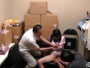 Japanese beauty is fond of getting twat stimulated, fingered