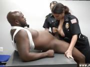 Black lip stick blowjob Milf Cops