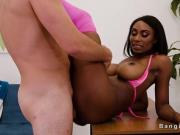 Hot ass ebony fucking huge dick