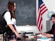 Nikki in fucked in school