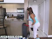BANGBROS - Big Tit Latina Maid Julianna Vega Takes Dick