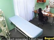 Euro patient pounded doggystyle by doctor in his office