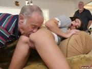 Leather skirt blowjob Riding the Old Wood!