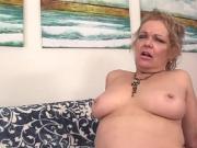 Granny Kelly Leigh Pleasured by Machine