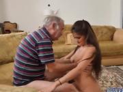 Hot Liz blowjob Frankies old big cock deep throat