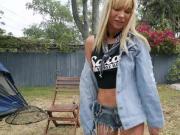 Kenzie invites neighbor to fuck her
