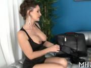 Our fascinating MILF adores fucking around with studs