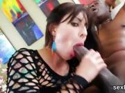 Pornstar hottie gets her butt hole plowed with monster pecker