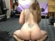 DanaVixen gets fucked with big toy and butt plug ALIVEGIRL