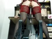 Milf Whore Railed By A Fuck Machine Deep, Hard And Fast