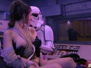 Stella Cox got her pussy smashed in Star Wars porn parody