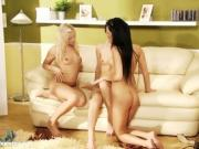 Three Yummy Dykes Have Some Pussy Banging Fun