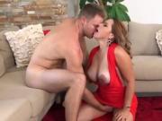 Luscious Cougar Gabriela Blows Her Hung Driver