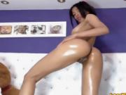 Latina Masturbating Webcam Part 2 Oil