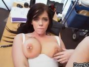 Rough sex with black stud satisfies her