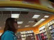 Enchanting czech nympho is tempted in the mall and drilled in