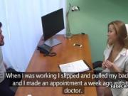 Nurse massaged and fucked patient